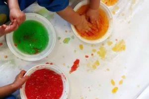 escuela infantil proyecto patio