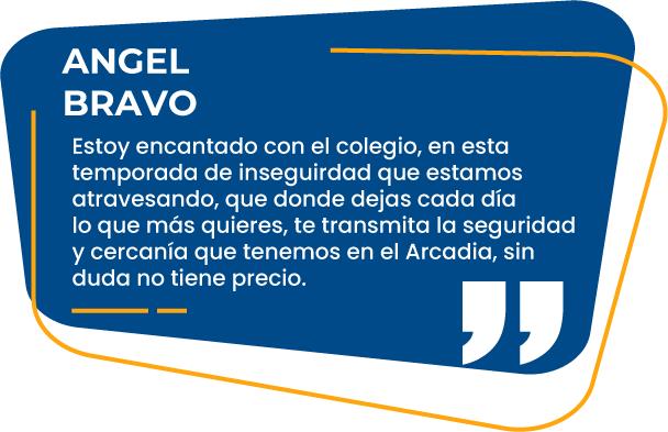 Reseña Angel Bravo